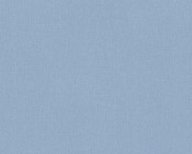 AS Creation Elegance uni blauw behang 2930-39
