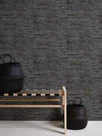 Beton behang zwart 37415-4