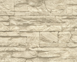 Stone 7071-30 Steenstructuur behang leisteen