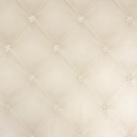 Chesterfield-Look met 3D diamanten behang 34144-4