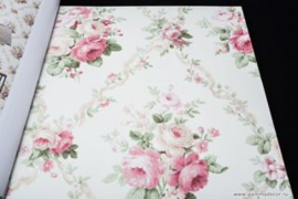 Engelse bloemen behang fd23203