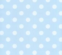 lichtblauw wit tafelzeil 10322