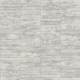 Steen behang grijs 602746