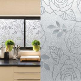 zelfklevend raamfolie bloemen rozen xx210