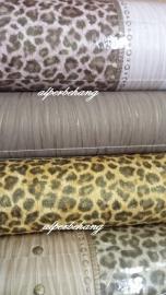 dierenprint dieren behang net echt leer luipaard panter 233