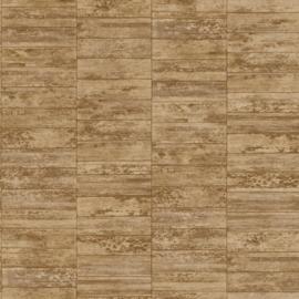 Steen behang beige bruin 602760