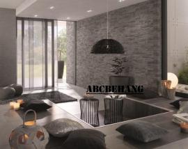 vlies steen behang 3d stenen bruin tuape xx1