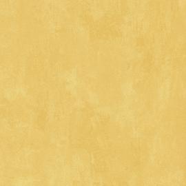 Noordwand Les Aventures 51137002 unie geel behang