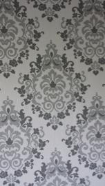 barok behang grijs 862-01