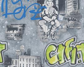 AS Creation Boys and Girls Graffiti behang 30468-2