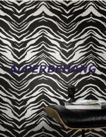 zebra vlies behang zwart wit 285