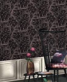 bloemen rozen behang 3d crispy paper 525618