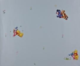 Disney Behang Winnie the pooh Blauw 1164-5
