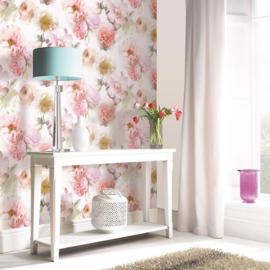 Bloemen Glitter Behang  Arthouse xxxx3