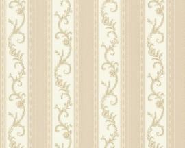 6496-45 beige ecru engelse klassiek behang