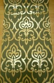 goud glitter glinster vlies behang 0060