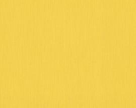 geel effe uni vlies behang xx51