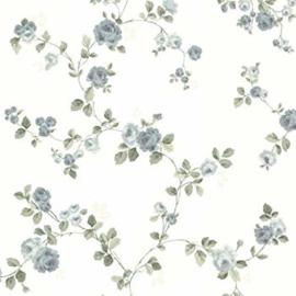 Bloemen behang floral blue fd68728