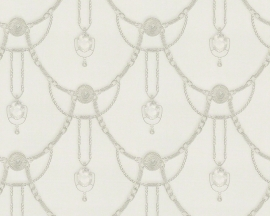 AS Creation Hermitage 9 behang 94353-3 creme klassiek diamanten