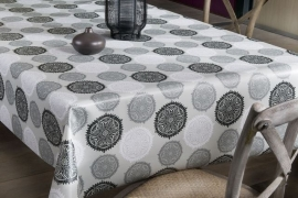 150-189 grijs zwart tafelzeil