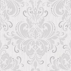 Grijs taupe barok behang 785-03