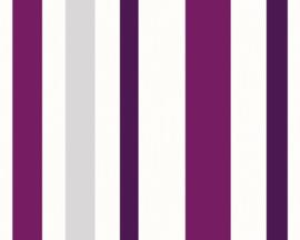 paars strepen behang 22792-8