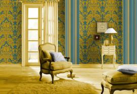 groen barok behang vlies 546453
