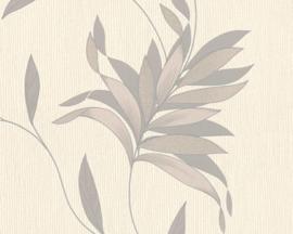 behang glitter grijs zilver 32522-1