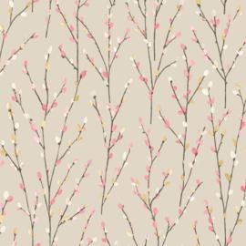 Engelse bloemen behang  98975