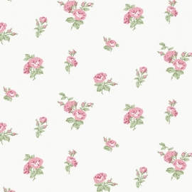 Norwall English Florals bloemen behang G34347