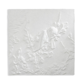 Arthouse Katarina canvas White 3D Glitter Blossom & Birds 004301