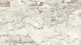 Steen behang betonlook lijkt net gemetseld 939316