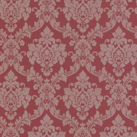 Barok behang rood glitter 13701-40