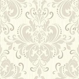 Grijs barok behang 785-02