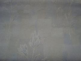 wit glitter behang 11