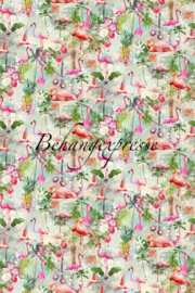 Behangexpresse COLORchoc Wallprint Flamingo Summers INK 6053