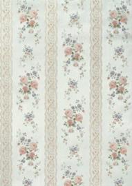 Engelse bloemen behang  holden 20748
