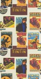 Noordwand Les Aventures 27120702 Kuifje Tintin jongens behang