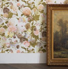 paradise garden bloemen behang 36717-2