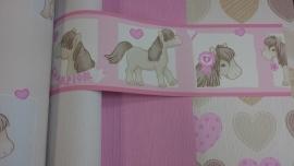 my little pony paarden behangrand meisjes kamer dd140
