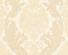 Beige goud barok behang 30754-1