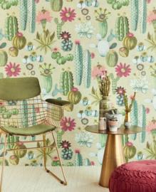 Eijffinger Vivid Wallpower 384605 Cacti