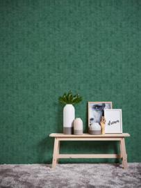 AS Création non-woven vlies behang Uni groen 37417-3