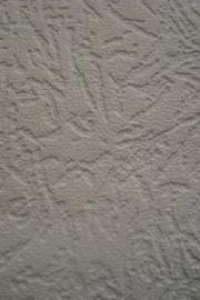 wit effen granol schuimvinyl behang 2002-50