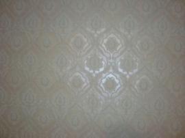 wit glitter behang 14