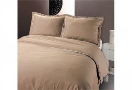 Fancy Embroidery - DBO Messina Taupe - Taupe