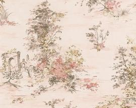 Behang natuur beige roze AS Romantica 30429-2