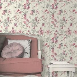 Bloemen op Hout Behang L136-10