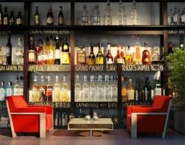 Vlies behang Non Drink Lovers Bar