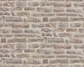 steen behang dubbelbreed taupe  34083-1